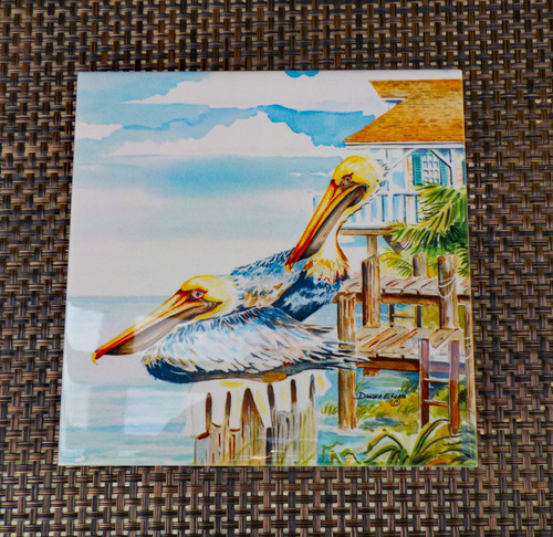 Pelican Bay tile copyright Donna Elias