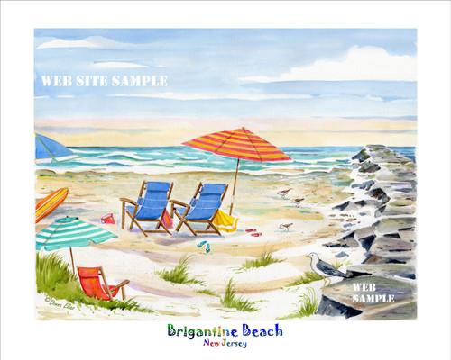 Brigantine Beach Jetty copyright Donna Elias