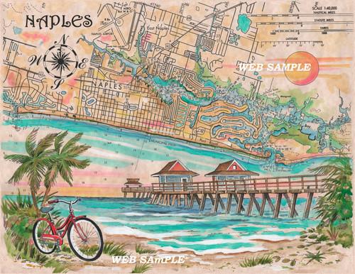 Charting Naples, Florida copyright Donna Elias