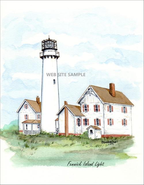 Fenwick Island Lighthouse copyright Donna Elias