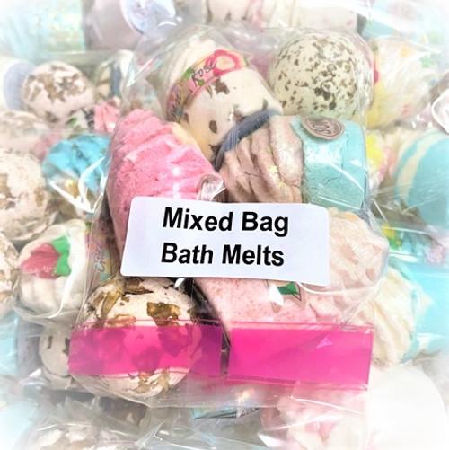1 Bag of Mixed Bath Melts of 6
