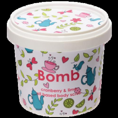 Cranberry & Lime Almond Oil Body Scrub 340ml