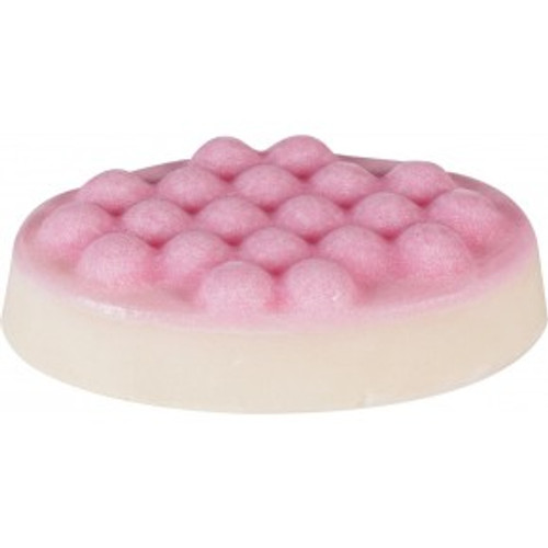 moisturising massage bar with shea butter and cocoa butter, sweet almond oil and pure essential oils