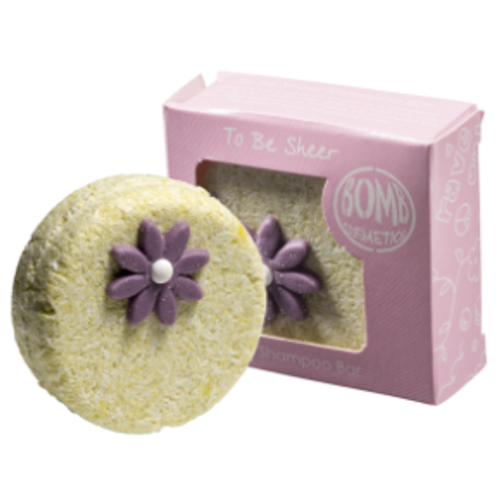 cleansing shampoo bar with essential oils