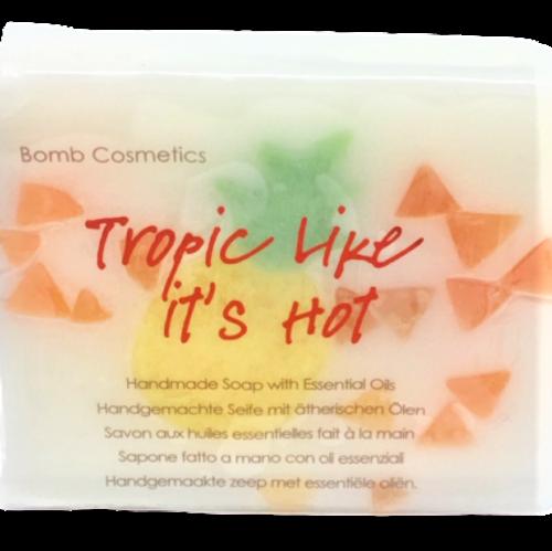 handmade soap, glycerine, vegan friendly, ph neutral, essential oils, tropical