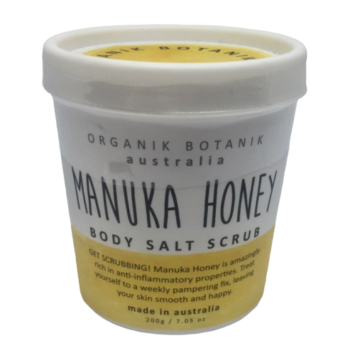 Australian made nourishing body scrub with vitamins and minerals