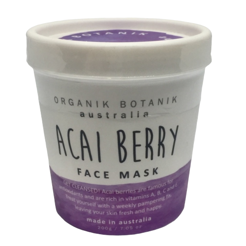 Australian made nourishing face mask with vitamins and minerals