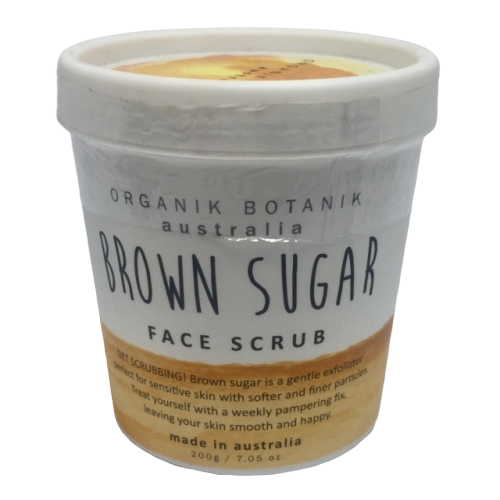 Australian made nourishing face scrub with vitamins and minerals