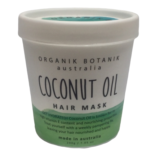 Australian made nourishing hair mask with vitamins and minerals