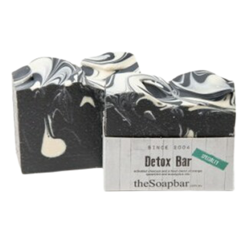 Australian handmade natural soap with natural ingredients, natural oils and essential oils, with activated charcoal