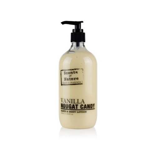 Australian made hand and body lotion that nourishes and moisturises leaving a lovely scent on your hands and body