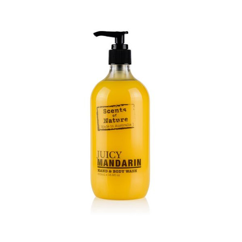 Australian made hand and body wash that cleanses and moisturises leaving a lovely scent on your hands and body