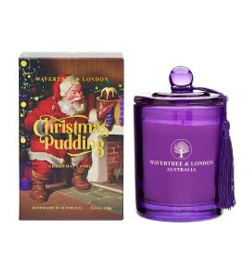 Christmas soy Candle, Christmas Pudding