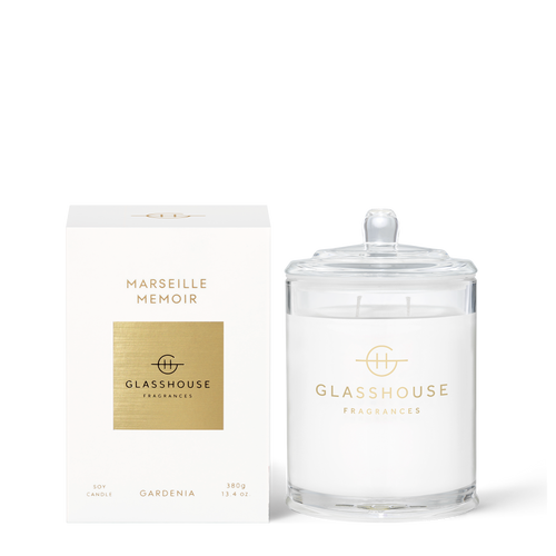Glasshouse, 80 Hour Burn Time, Triple scented, long lasting fragrant candle, Made from natural soy wax and cotton wick, Hand poured in Australia