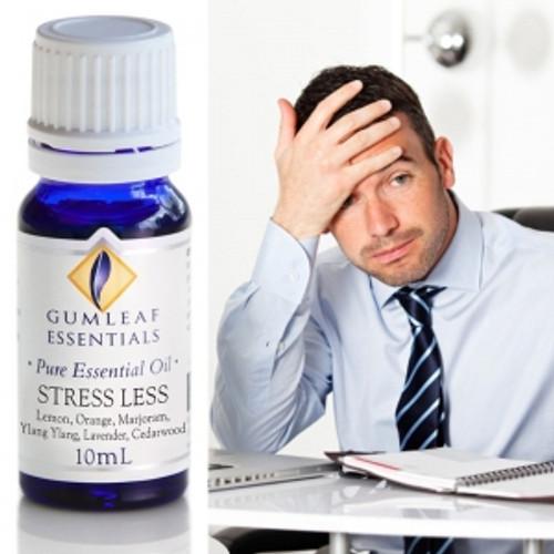 stress less essential oils blend