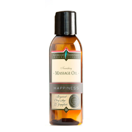 Massage oil with essential oils