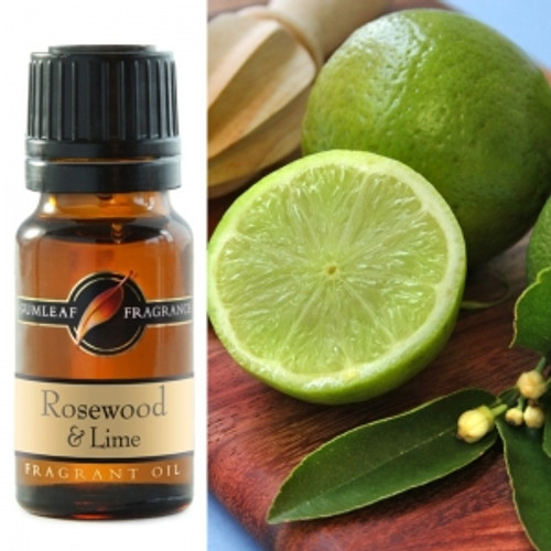 rosewood and lime fragrance oil