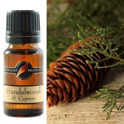 sandalwood and cypress fragrance oil