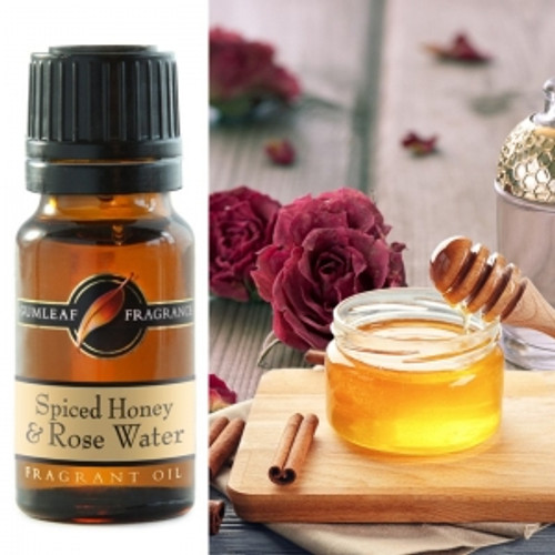 spiced honey and rosewater fragrance oil
