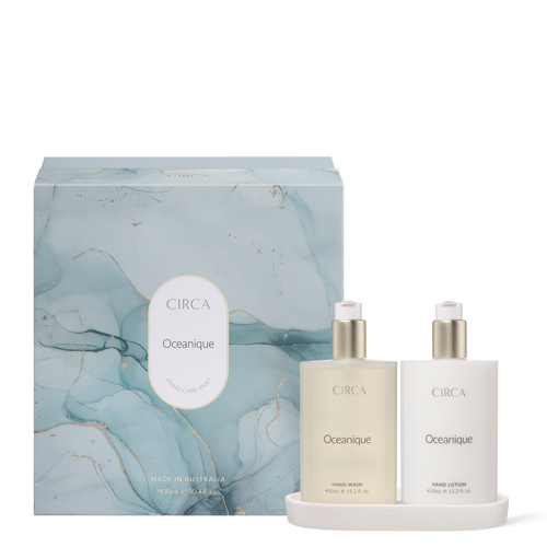 cleansing hand wash and moisturising hand lotion