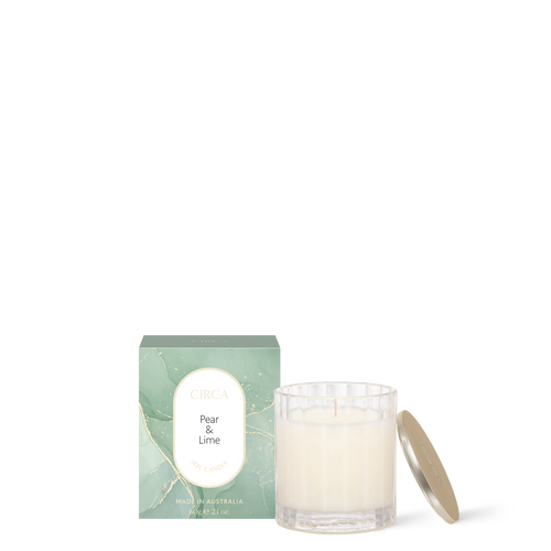 Pear & Lime Soy Candle