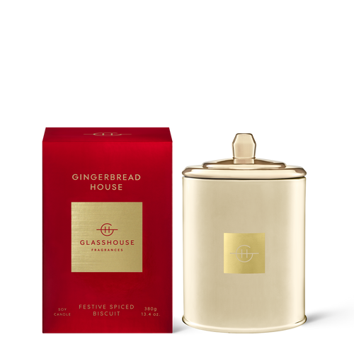 Gingerbread House Candle 380g