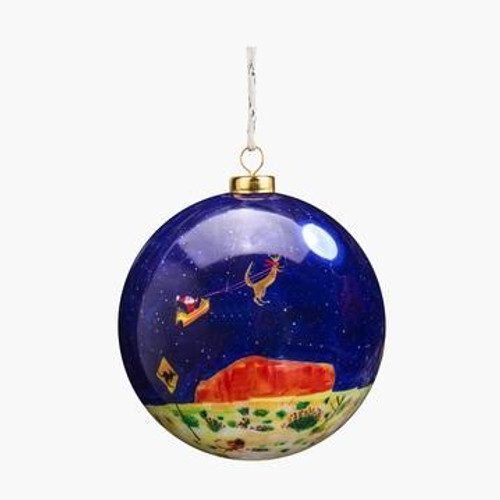 christmas spirit in the sky bauble