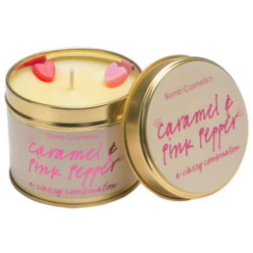 tin candle with pure essential oils