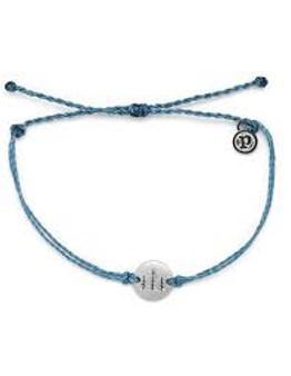 Pura Vida Wander Bracelet - Dusty Blue