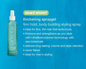 Aquage Thickening Spraygel 8oz