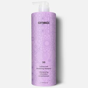 Amika 3D volume &thickening Shampoo 1L