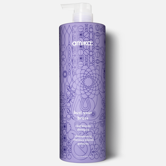 Amika Bust Your Brass Shampoo 1L