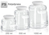 Autofil 500ml PS Media Bottle, Sterile, 1172-RLS