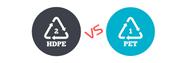 High Density Polyethylene vs Polyethylene Terephthalate
