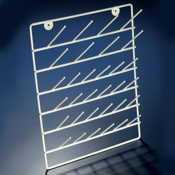 Standing Lab Drying Rack - Coated Steel