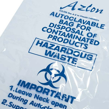 High Temperature Autoclavable Bags - Clear
