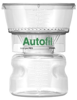 Autofil 250ml Bottle Top Filter 0.2 um PES Full Assembly