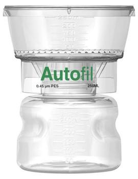 Autofil 250ml Bottle Top Filter 0.45 um PES Full Assembly