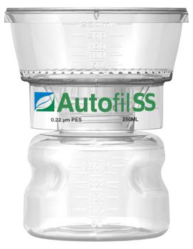Autofil SS 250ml Bottle Top Filter 0.2 um PES Full Assembly