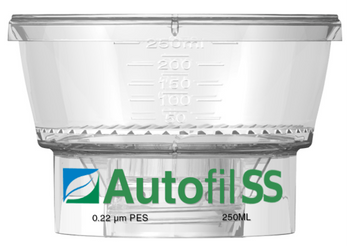 Autofil SS 250ml Bottle Top Filter Funnel 0.2 um PES