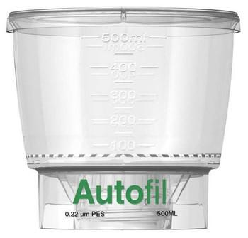 Autofil PES Bottle Top Filter, Funnel Only, 500 ml, 0.2 um PES, 1152-RLS
