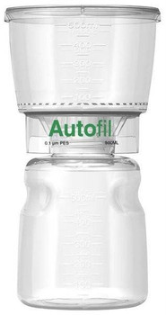 Autofil Bottle Top Filter, Full Assembly, 500 ml, 0.1 um PES, 116-8113-RLS