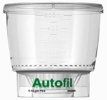 Autofil Bottle Top Filter, Funnel Only, 500 ml, 0.45 um PES, 1162-RLS