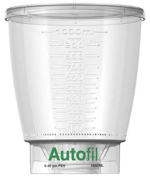 Autofil Bottle Top Filter, Funnel Only, 1000 ml, 0.45 um PES, 1163-RLS