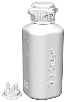 Foxx Life Sciences 1L HDPE HD Plastic Vacuum Bottle, 162-1102-OEM