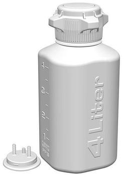 Foxx Life Sciences  4L PP HD Plastic Vacuum Bottle, 165-4202-OEM