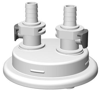 "VersaCap Adapter, 83mm, 2x 3/8"" HB, Quick Connect, 205-3003-RLS"