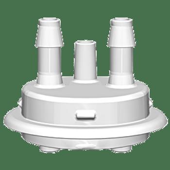 """VersaCap Adapter, 53mm, 2x 1/4"""" HB Molded In, 205-5332-RLS"""