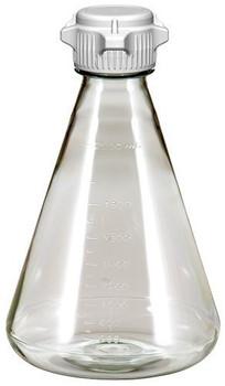 Sterile 2 Liter Erlenmeyer Polycarbonate Flask with 53mm Cap 248-5132-OEM