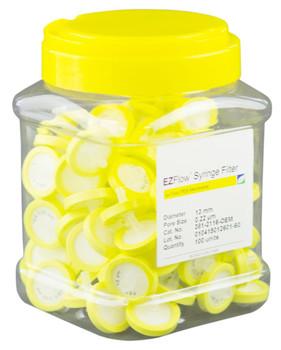 EZFlow High Particulate Syringe Filter, 0.45um, Hyrophilic PVDF, 25mm, 37P-3216-OEM
